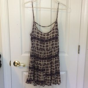 Brandy Melville Flowy Summer Top / Mini Dress OS